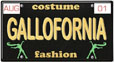 Gallofornia License Plate by Christopher Ambridge